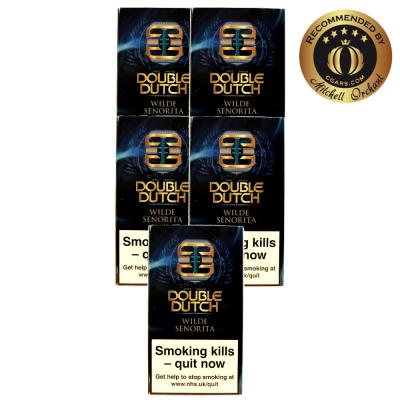 Double Dutch Wilde Senoritas Cigar - 5 Packs of 10 (50)