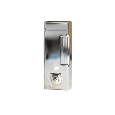 Dunhill - Bulldog Palladium Plated Rollagas Lighter