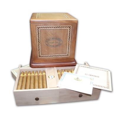 El Rey del Mundo Imperio Antique Replica Humidor - 170th Anniversary - 50 Cigars