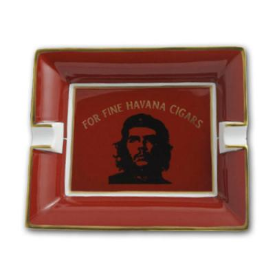 Elie Bleu Porcelain Cigar Ashtray - Che Red