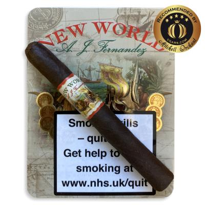 A.J. Fernandez New World Oscuro Petit Corona Cigar - Tin of 6