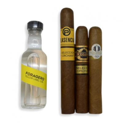 Orchant Seleccion Cigars + Foragers Yellow Label Gin Pairing