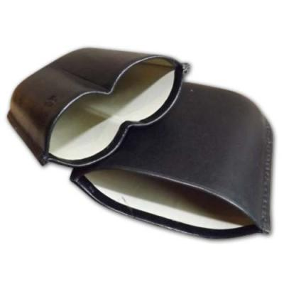 GBD Bombaso Cigar Case - up to 64 ring gauge - Black