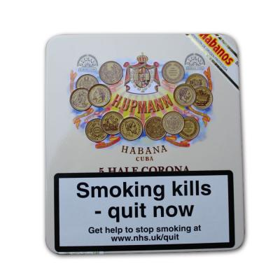 H. Upmann Half Corona Cigar - Tin of 5