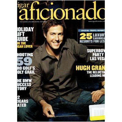 Cigar Aficionado Magazine - November/December 2009