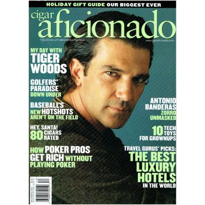 Cigar Aficionado Magazine - Nov/Dec 2005