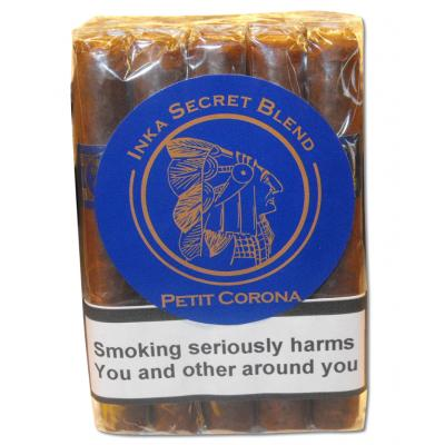 Inka Secret Blend Blue Petit Corona Cigar - Bundle of 10