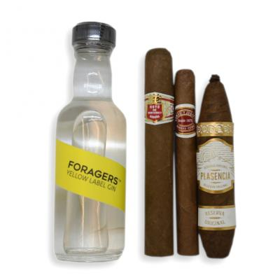 Intro to Pairing - Foragers Yellow Label Gin & Light Cigars Selection