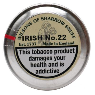 Wilsons of Sharrow - Irish No. 22 Snuff - Large Tin - 20g