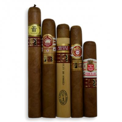 LCDH Exclusive - Mixed Cuban Selection Sampler - 5 Cigars