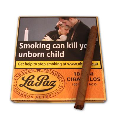 La Paz Mini Cigarillos - 10 Packs of 10 cigars (100 cigars)