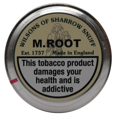 Wilsons of Sharrow - M.Root Snuff - Small Tin - 5g