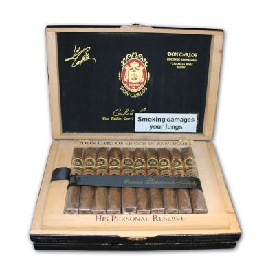 Arturo Fuente Don Carlos The Mans 80th Personal Reserve Cigar - Box of 20