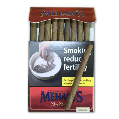 Meharis by Agio Red Orient Cigar - 10 Packs of 10 (100 cigars)