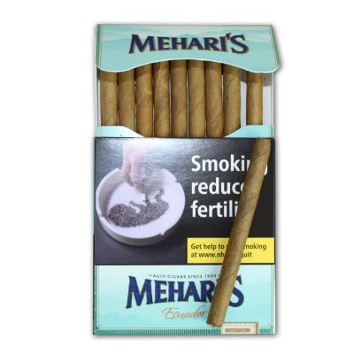 Meharis by Agio Ecuador Cigar - 10 Packs of 10 (100 cigars)