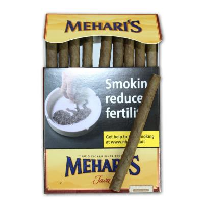 Meharis by Agio Java Cigar - 10 Packs of 10 (100 cigars)