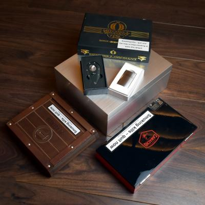 Everything You Need Luxury New World Compendium - Cigars, Humidor & Accessories