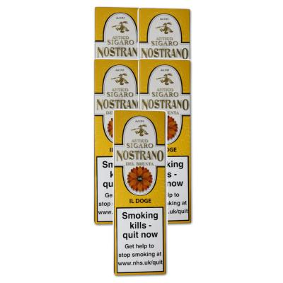 Nostrano del Brenta Il Doge Cigar - 5 Packs of 3 (15)