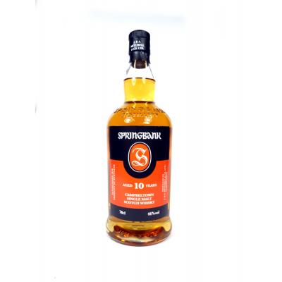 Springbank 10 Year Old Whisky - 70cl 46%