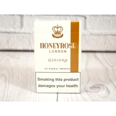 Honeyrose London G (Formerly Ginseng) Flip Top - 1 Pack of 20 Herbal Cigarettes (20)