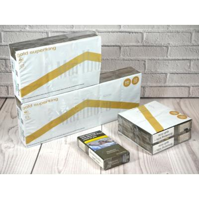 Marlboro Gold Superking 100s - 20 pack of 20 Cigarettes (400)