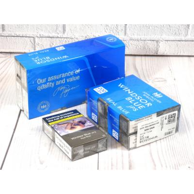 Windsor Blue Real Blue Kingsize - 10 Packs of 20 Cigarettes (200)