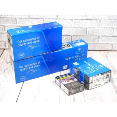 Windsor Blue Real Blue Kingsize - 20 Packs of 20 Cigarettes (400)
