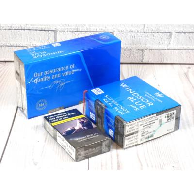 Windsor Blue Real Blue Superking - 10 Packs of 20 Cigarettes (200)