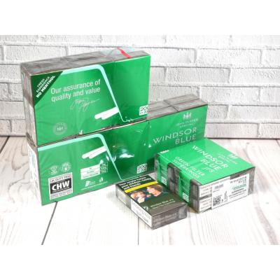 Windsor Blue Green Filter Superkings - 20 Packs of 20 Cigarettes (400)