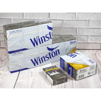 Winston Blue - 20 Packs of 20 Cigarettes (400)