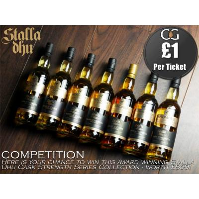DECEMBER Competition Entry - Stalla Dhu Cask Strength Series Collection - 7x70cl
