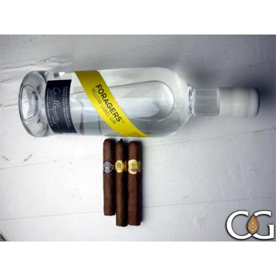 Foragers Yellow Label + Cuban Cigars Sampler - 3 Cigars