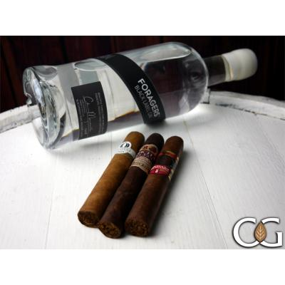 Foragers Black Label + New World Cigars Sampler - 3 Cigars