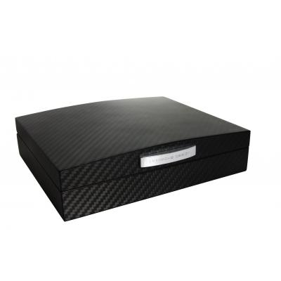 Porsche Carbon Black Small Humidor - 10 Cigar Capacity