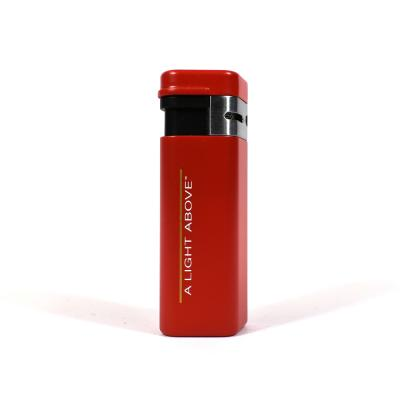 Palio Triple Torch Jet Flame Cigar Lighter - Red