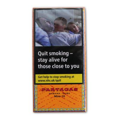 Partagas Mini Cigarillos - 10 x Packs of 10  (100)