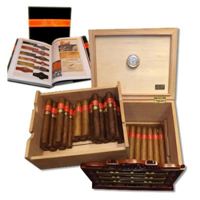 Partagas Factory Humidor - 45 Cigars and Partagas El Libro Book