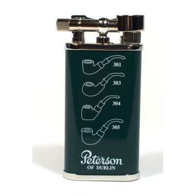 Peterson Pipe Lighter - Green Clover
