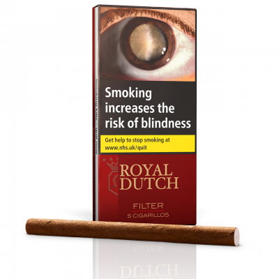 Ritmeester Royal Dutch Filter Cigar - Pack of 5