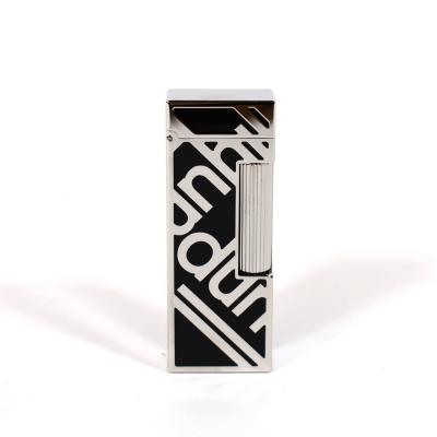 Dunhill Rollagas Lighter - Signature Black Palladium Plated