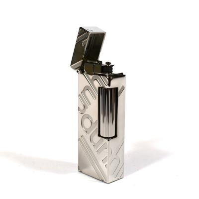 Dunhill Rollagas Lighter - Signature Palladium Plated