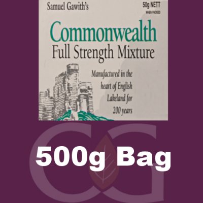 Samuel Gawith Commonwealth Mixture Pipe Tobacco - 500g Bag