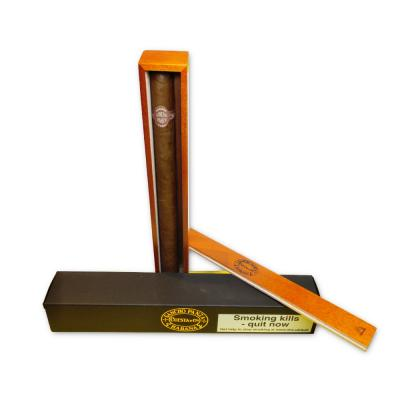 Sancho Panza Sanchos Cigar - 1 Single in Varnished Slide Lid Box (Coffin)