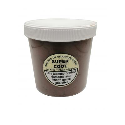 Wilsons of Sharrow Snuff - Super Cool - Tub - 250g (END OF LINE) - Black Friday