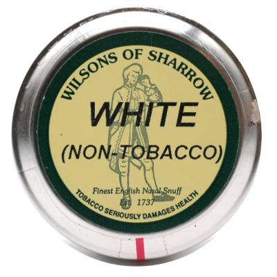 Wilsons of Sharrow Snuff - White Non-Tobacco  - Large Tin - 20g