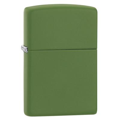 Zippo - Regular Moss Green Matte - Windproof Lighter