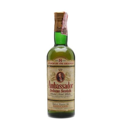 Ambassador 8 Year Old 1960s Deluxe Scotch Whisky - 75cl 43%