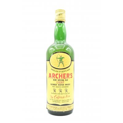 Archers Very Special Old Light 1960s Whisky - 70cl