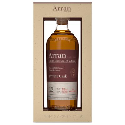 Arran 12 Year Old Tuscan Wine - 60% 70cl