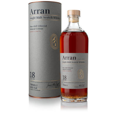 Arran 18 year old - 46% 70cl